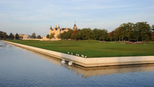 Schwimmende Wiese Schwerin