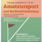 Fachtagung Amateursport und Rechtsextremismus Sportgymnasium Schwerin