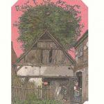 Illustration Wilhelm Busch Ausstellung 23. Literaturtage Buchhandlung littere ceterea