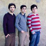 Die aus dem Iran stammenden Brueder Mojtaba, Masoud und Milad Sadinam