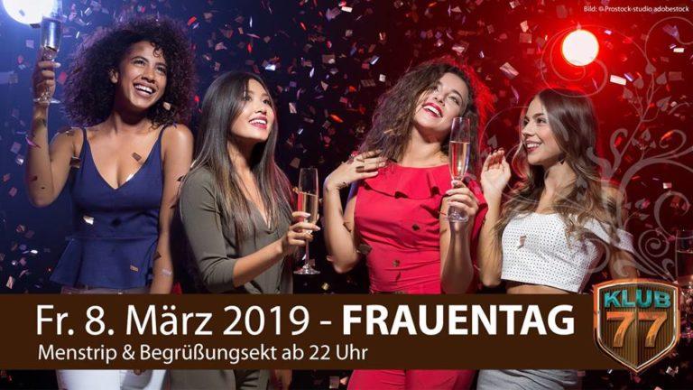Frauentagsparty klub 77 - Wohin heute? Schwerin
